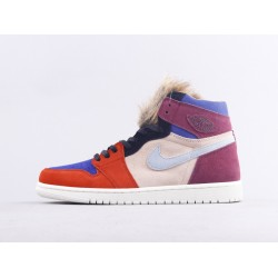 Air Jordan 1 Court Lux High OG Aleali May Purple