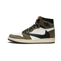 Air Jordan 1 Hi OG TS SP Travis Scott Grey Brown