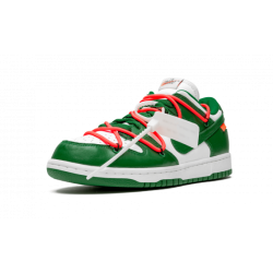 OFF WHITE x Nike Dunk Low OFF WHITE - Pine Green