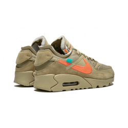OFF WHITE x Nike Air Max 90 Desert Ore Grey
